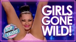 You Didn't See That Coming! Girls Gone WILD On Got Talent, X Factor & Idols WORLDWIDE!   Top Talent