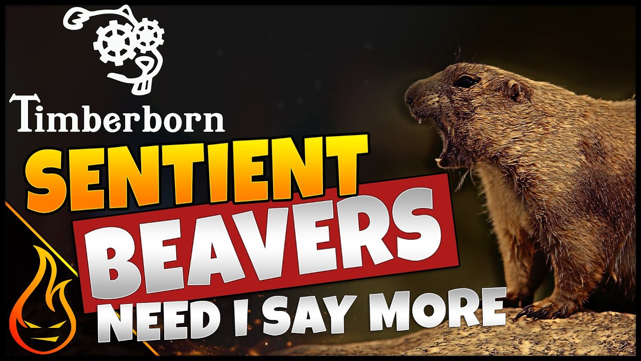 Firespark81 - Getting busy with beavers in Timberborn Closed Beta – now with Dam & Blast