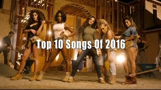 Top 10 English Songs of 2016 - Best Songs Collection