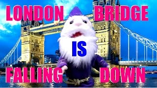 London bridge id falling down, instrumental, puppet singalong for toddlers,