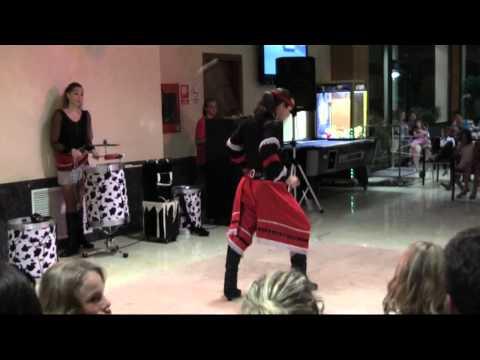 """Diablos De La Pampa_Part 2, Gaucho Show  / Blanes, Hotel """"Blau Cel"""""""