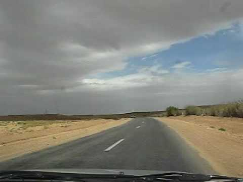 Driving somewhere near Midelt, Morocco