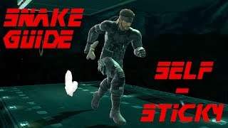 Snake Guide: How to do the Self-Sticky C4