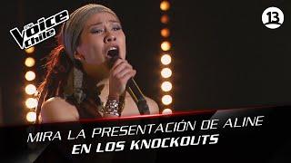 The Voice Chile   Aline Chacana - El derecho de vivir en paz