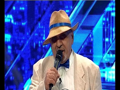 """Fănică Luca - """"La Ciolpani, la crucea 'naltă"""". Vezi aici cum cântă Constantin Florea la X Factor!"""