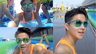 【Jerry.C 謝利|夏日 Slide The City HK x Action Cam】