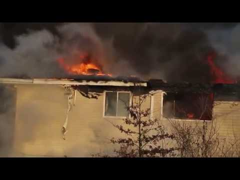 A fire broke out at Carriage Hill Apartments shortly after 4 p.m. on Sunday, Feb. 26.  Read the full story: http://www.thepostathens.com/article/2017/02/fire-carriage-hill  Video by Patrick Connolly