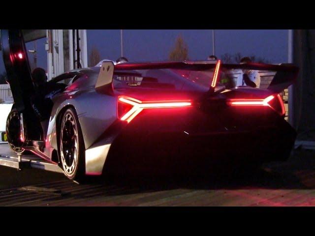 Lamborghini Veneno Sound & LOUD Revs