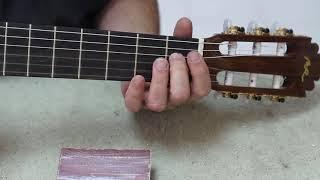 Truco  modifica la altura de las cuerdas de tu guitarra English subtitles