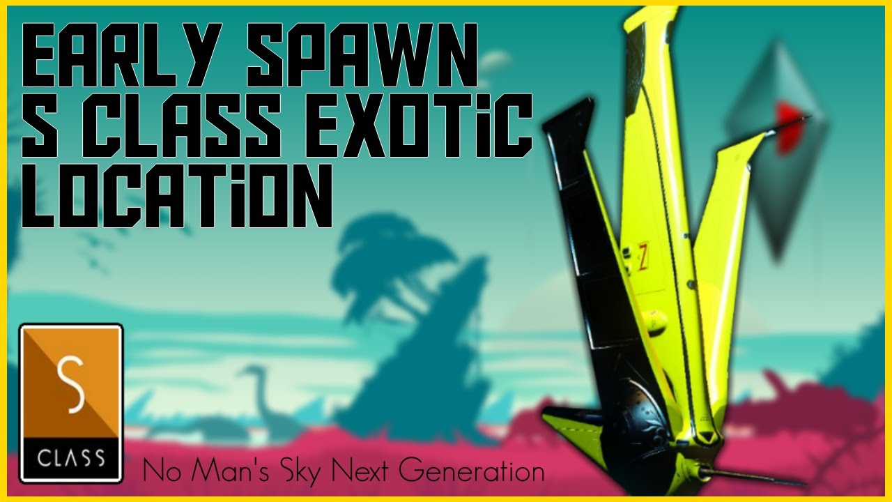 Manic Miners - No Man's Sky Next Generation - EARLY SPAWN YELLOW TRI WING EXOTIC STARSHIP - No Mans Sky  2020