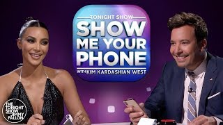Show Me Your Phone w/ Kim Kardashian West