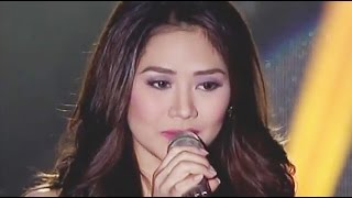 Sarah Geronimo sings 'Music and Me' on Sarah G. Live