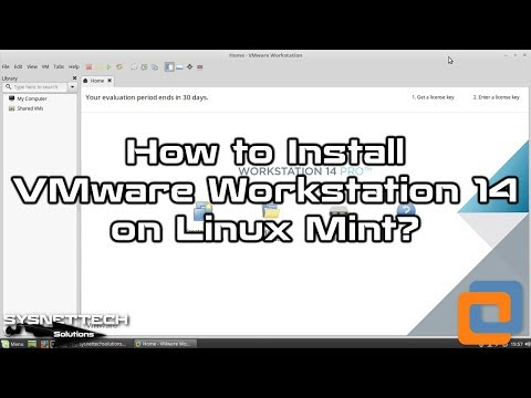 VMware 14 Setup Video