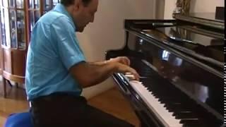 OS FLINTSTONES theme song/ musica abertura desenho filme famoso internacional/ piano solo alegre