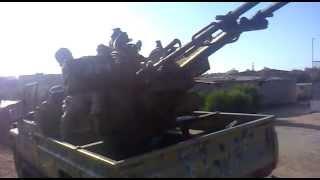Amazigh Rebels from yefren Fighting  Gaddafi Loyalist in Zawia