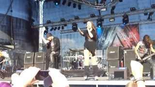 Amaranthe-Infinity@Kuopio RockCock 2013