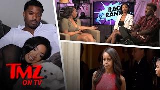Ray J Shuts Down Rumors He Slid Into Malia Obamas's DM's! | TMZ TV