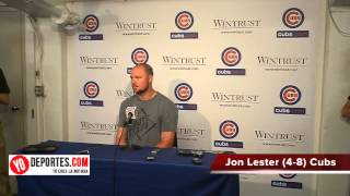 Crosstown Cup 2015 Jon Lester lost with the white sox game #2