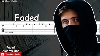Alan Walker - Faded Guitar Tutorial