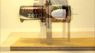 Building the Horizontal Pop Can Stirling Engine