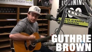 Guthrie Brown - Lakeside - Live in the Lightning 100 studio