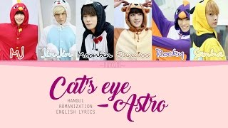 Astro - Cat's Eye (Color Coded Lyrics || HAN|ROM|ENG)