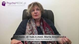 Depresja gangstera okiem psychiatry - prof. Marta Anczewska - Psychiatra Warszawa - PsychoMedic.pl
