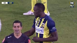 OFFICIAL EXTENDED HIGHLIGHTS: Usain Bolt Extended Highlights | Central Coast Mariners 12.10.2018