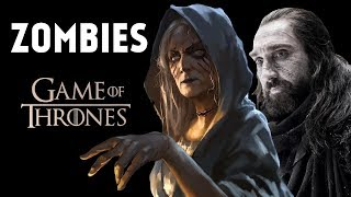 Every Type of ZOMBIE in Game of Thrones Explained