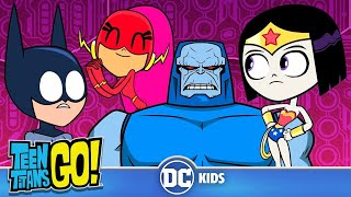 Teen Titans Go! | Teen Justice League VS. Darkseid