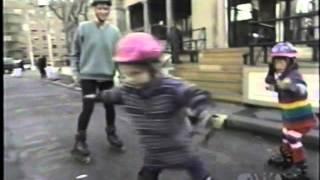 Teletubbies - Rollerblading