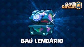 Abrindo Baú Lendário - Clash Roayle
