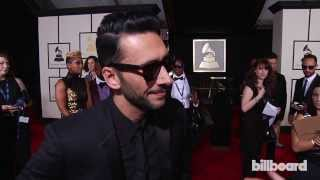Cedric Gervais on the GRAMMYs Red Carpet 2014