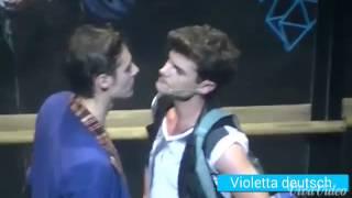 Violetta live  || Diego & Tini & jorge😅