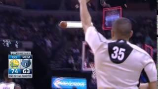 Stephen Curry Halfcourt Buzzer Beater | NBA Highlights™