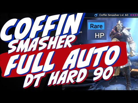 Coffin Smasher full auto DT HARD 90 Griffin. This is the way! Raid Shadow Legends Doom tower guide