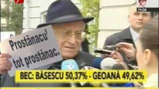 Cronica Carcotasilor - Top Rusinica 23.12.2009
