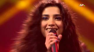 Samra Rahimli - When Love Takes Over | 1/2 final | The Voice of Azerbaijan 2015