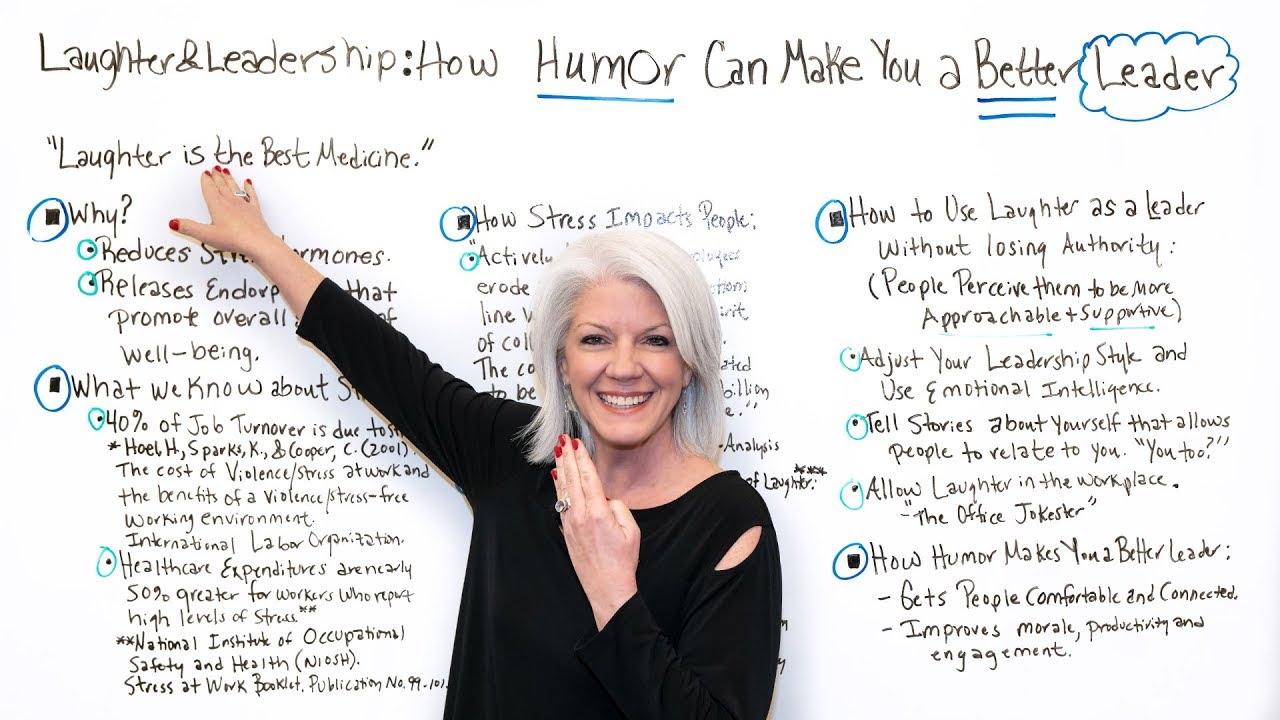 How Humor Can Make You a Better Leader