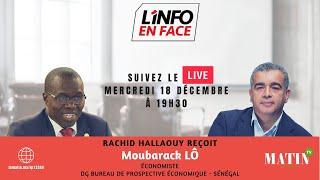L'info en Face avec Moubarak Lo