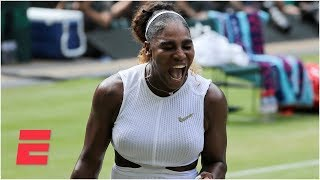 Serena Williams tops Barbora Strycova, advances to final | 2019 Wimbledon Highlights