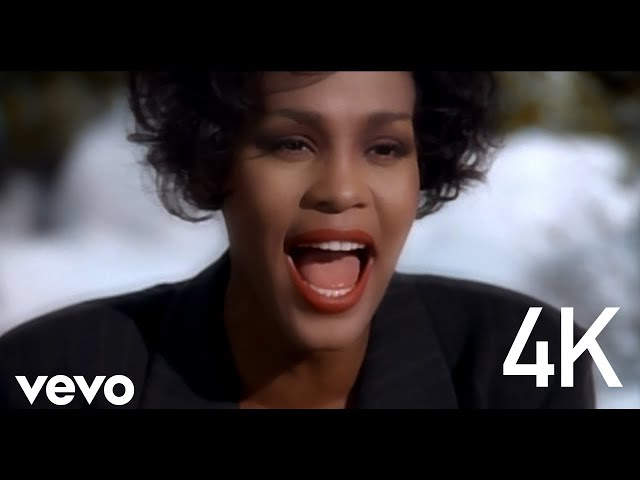 """Video oficial de """"I Will Always Love You"""" de la banda sonora de """"El Guardaespaldas"""" de Whitney Houston"""