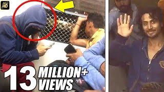 Tiger Shroff Travels In Mumbai Local Train Without Being Noticed For Munna Michael Shoot In Vasai width=