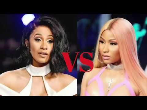 Cardi B vs Nicki Minaj Tw