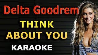 Delta Goodrem - Think About You LYRICS Karaoke