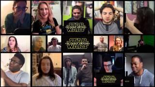 Star Wars Episode VII: The Force Awakens - Teaser Trailer 1 (Reaction Mashup)