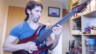 "Jens Kloth and ""hapas guitar"" 8 string columbus"