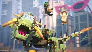 Green Ninja Mech Dragon - LEGO NINJAGO Movie - 70612 Product Animation