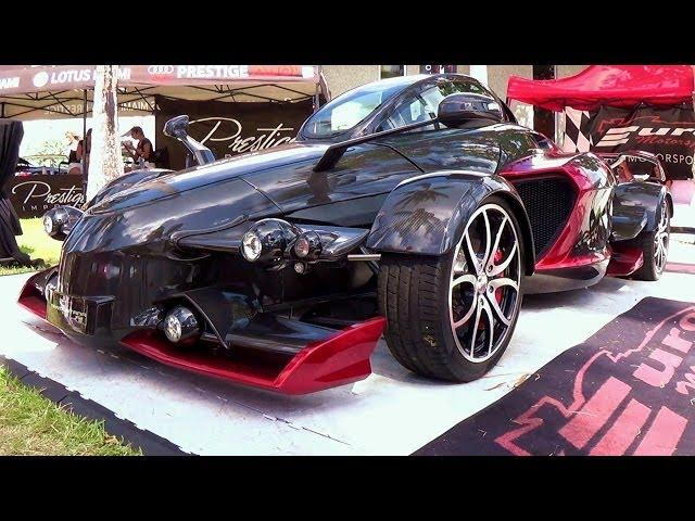 Tramontana R Edition.   A Carbon Fiber V12 Monster Supercar