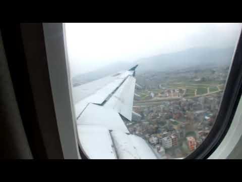 Biman Bangladesh Landing in Kathmandu